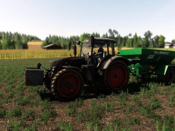 Felder für maximalen Ertrag düngen