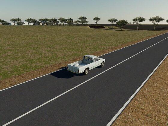 Highway angepasst - breiter, Bankette etc.
