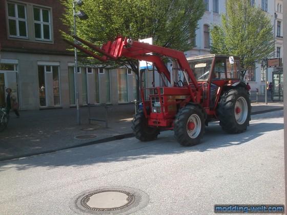 Letztens in der Lübecker Innenstadt