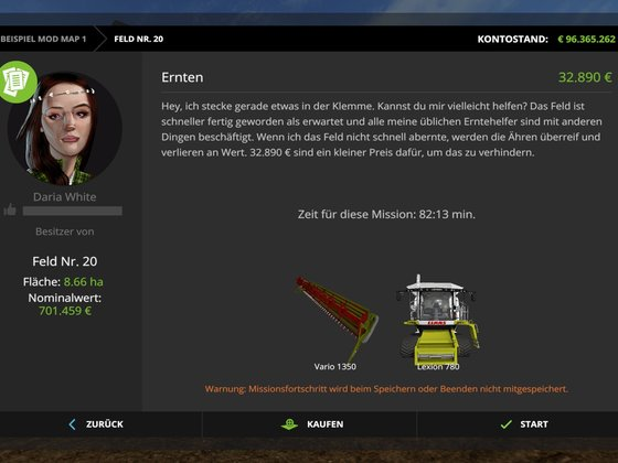 LEXOIN 780 nun auch in Missionen