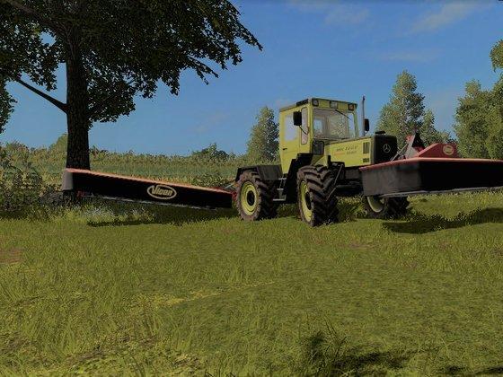 Cuttin grass and kick`n`Ass   MB Trac Power