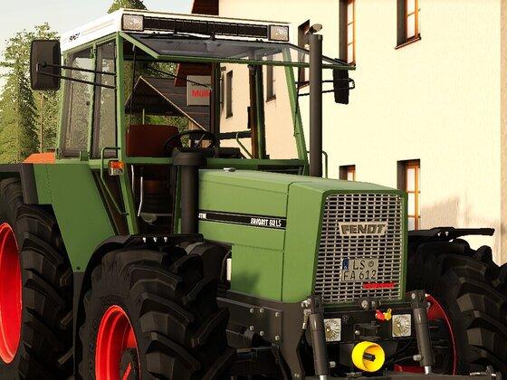 Neuer Traktor in Holz
