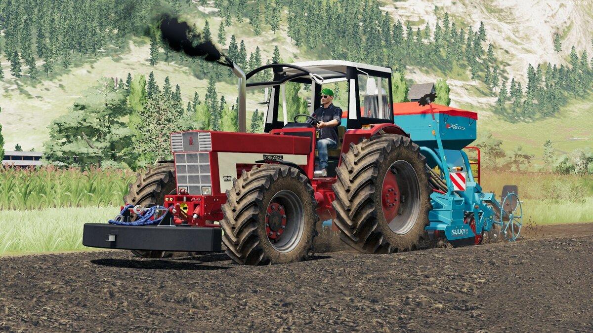 International Harvester 1046 goes Wild