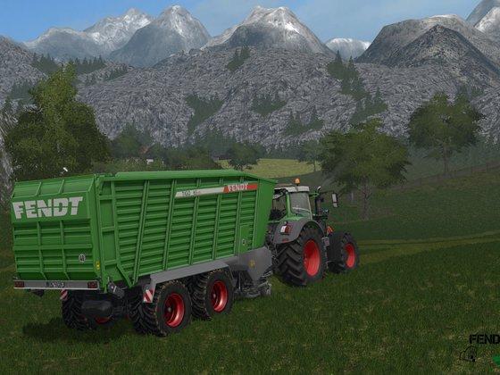 Grassilieren im Alpenvorland.