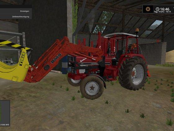 946 mit Forstausrüstung