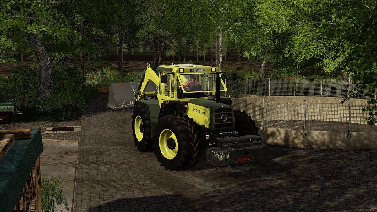MB-Trac 1300 Hecklader