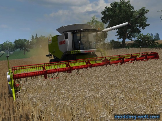 Claas Lexion 770 @ Work!