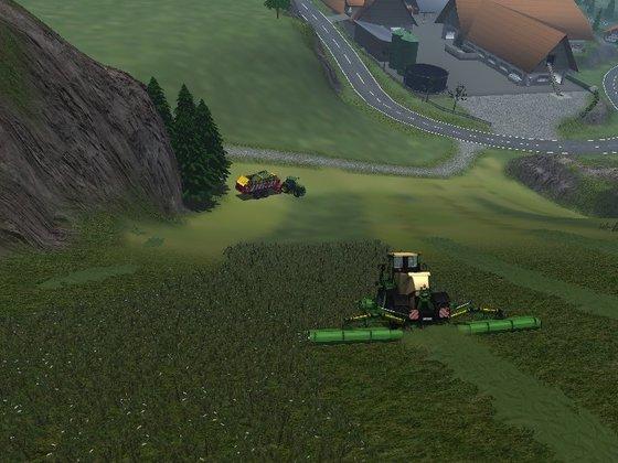 Grassilage im Alpenland